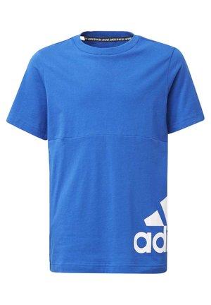 MUST HAVES BIG LOGO T-SHIRT - Print T-shirt - blue