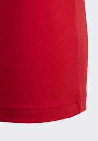 adidas Performance - ESSENTIALS LINEAR LOGO T-SHIRT - T-shirt imprimé - red - 4