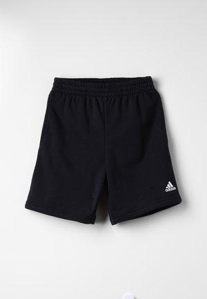LOGO SHORT - Sports shorts - black/white