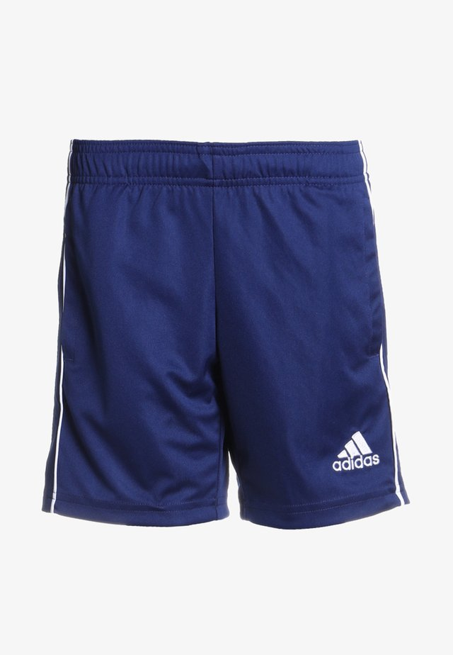CORE ELEVEN PRIMEGREEN FOOTBALL 1/4 SHORTS - Short de sport - dark blue/white