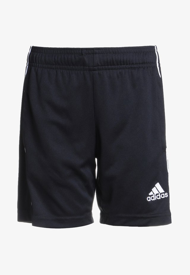CORE ELEVEN PRIMEGREEN FOOTBALL 1/4 SHORTS - Urheilushortsit - black/white