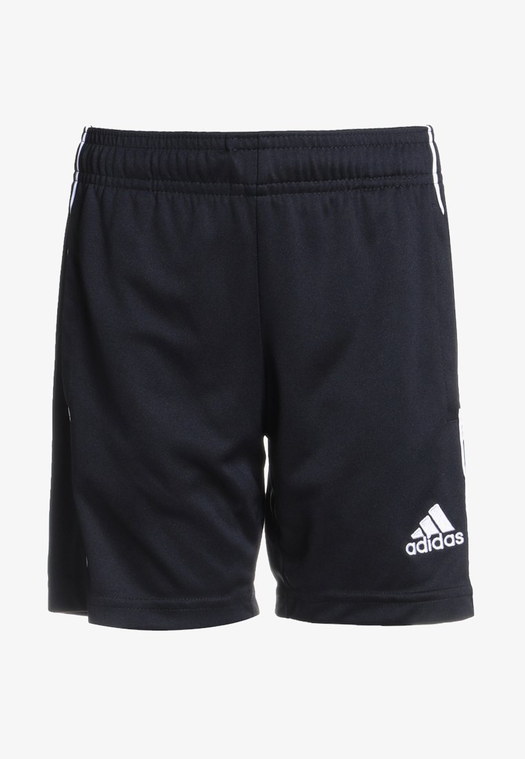 adidas Performance - CORE ELEVEN PRIMEGREEN FOOTBALL 1/4 SHORTS - Sports shorts - black/white