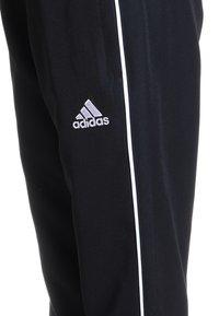 adidas Performance - CORE - Teplákové kalhoty - black/white - 2