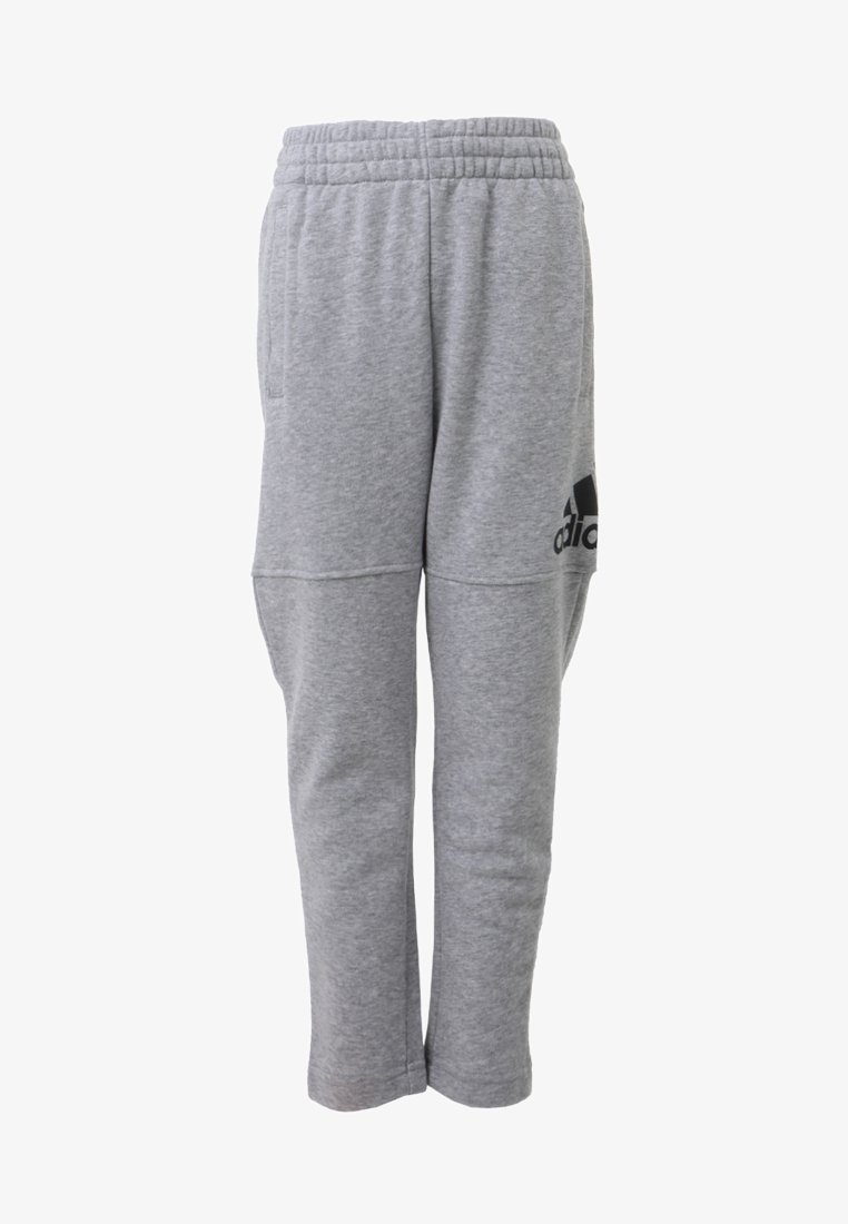 adidas Performance - LOGO PANT - Trainingsbroek - medium grey heather/black