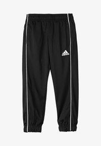 adidas Performance - CORE ELEVEN FOOTBALL PANTS - Teplákové kalhoty - black/white - 2