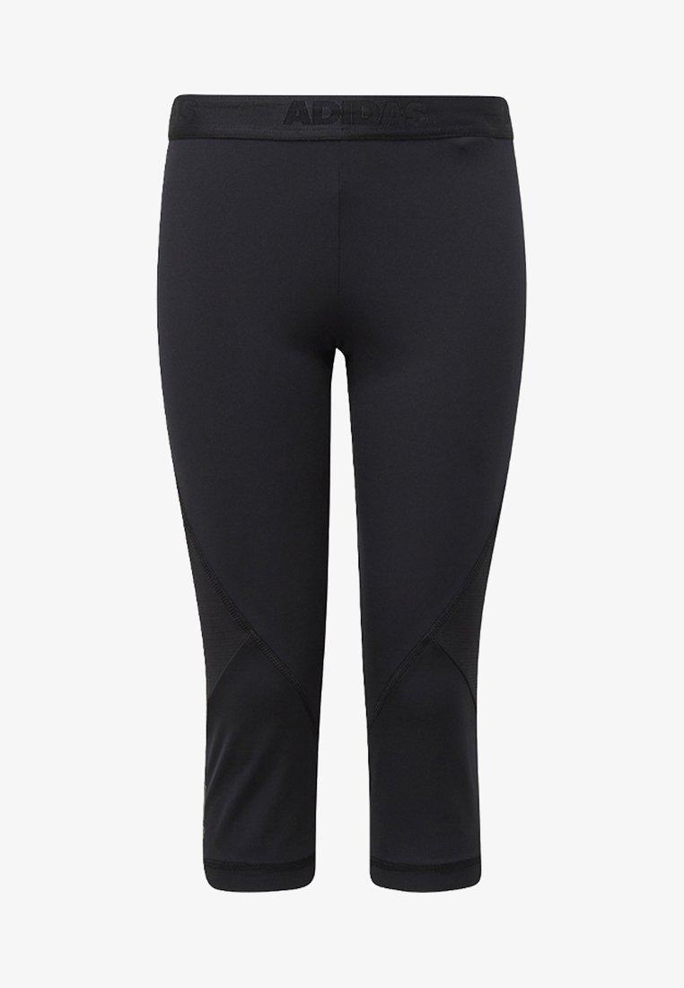 adidas Performance - ALPHASKIN SPORT 3/4 LEGGINGS - 3/4 sports trousers - black