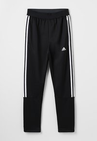 adidas Performance - TIRO STADIUM LEAGUE AEROREADY PANTS - Tracksuit bottoms - black/white - 0