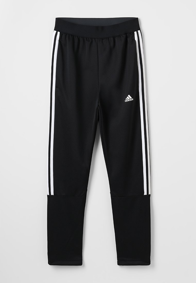 adidas Performance - TIRO PANT - Pantaloni sportivi - black/white