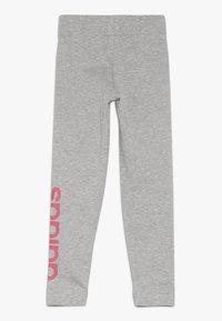 adidas Performance - Leggings - mid grey heather/real pink - 1