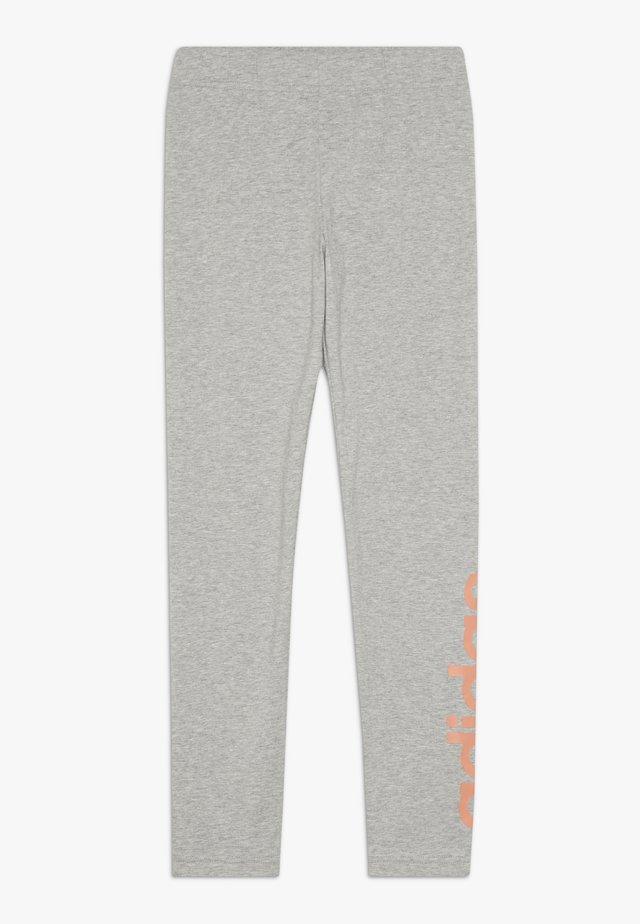 Leggings - light grey/light pink