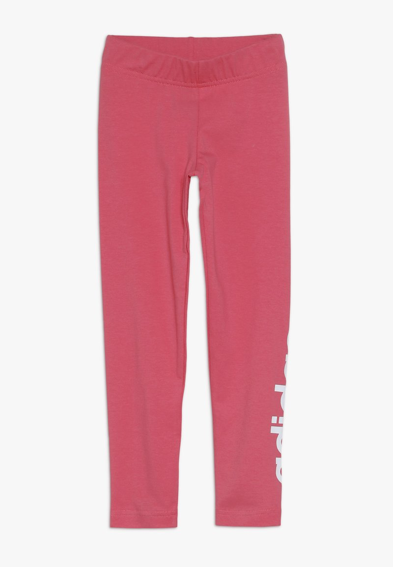 adidas Performance - Legginsy - real pink/white