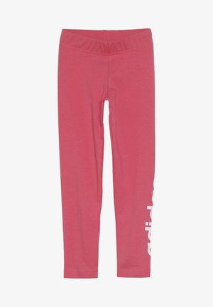 Legging - real pink/white
