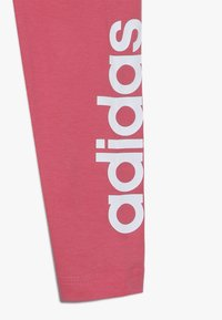 adidas Performance - Legginsy - real pink/white - 2