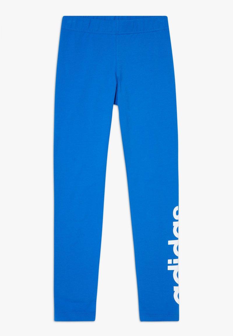 adidas Performance - Leggings - blue/white
