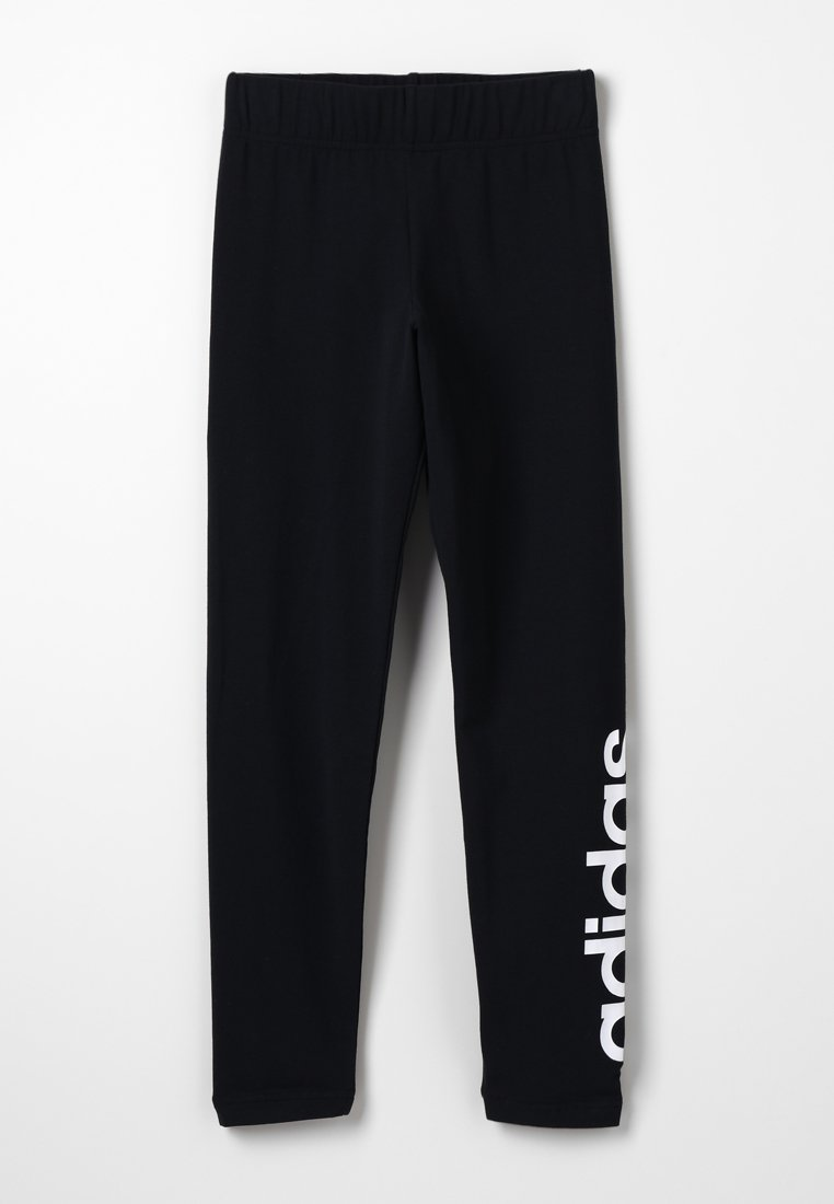 adidas Performance - Legginsy - black/white
