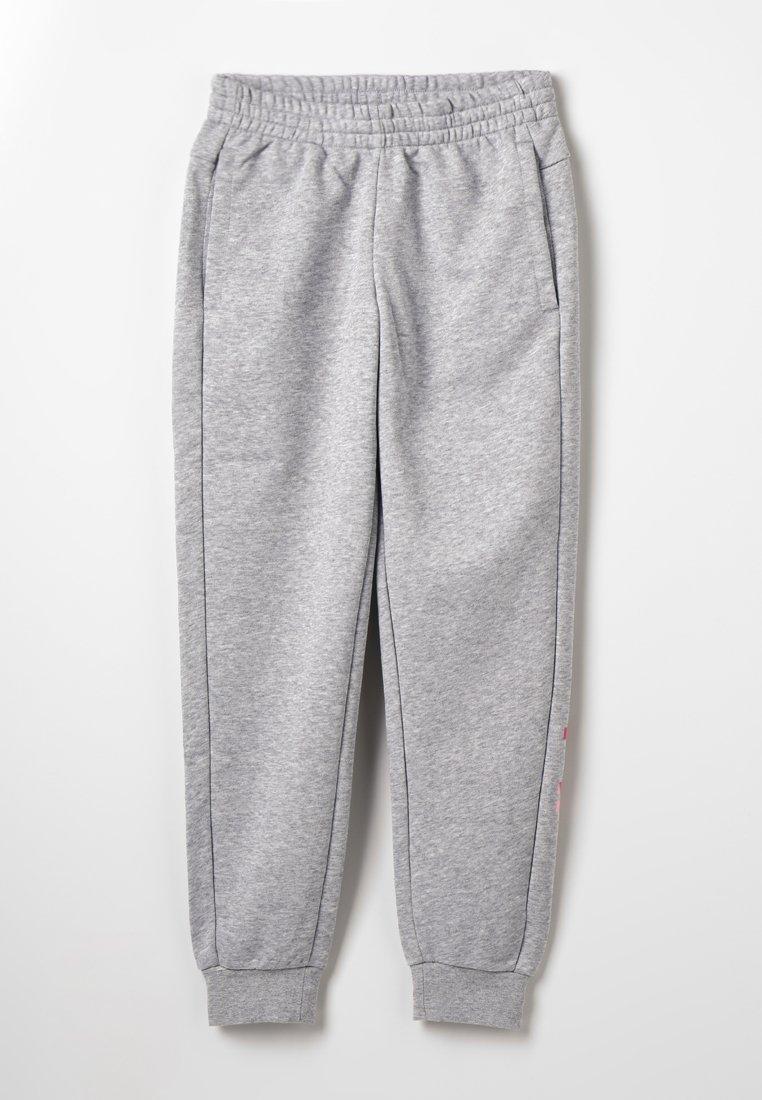 adidas Performance - Tracksuit bottoms - mottled grey