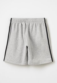 adidas Performance - BOYS ESSENTIALS 3STRIPES SPORT 1/4 SHORTS - Korte sportsbukser - medium grey heather/black - 1