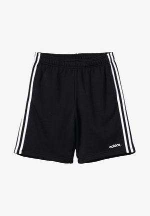 BOYS ESSENTIALS 3STRIPES SPORT 1/4 SHORTS - Sports shorts - black/white