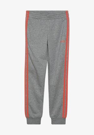 3S PANT - Teplákové kalhoty - medium grey heather/coral