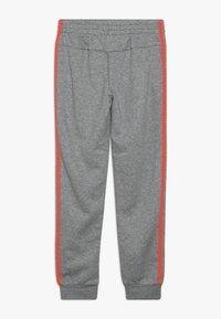 adidas Performance - 3S PANT - Teplákové kalhoty - medium grey heather/coral - 1