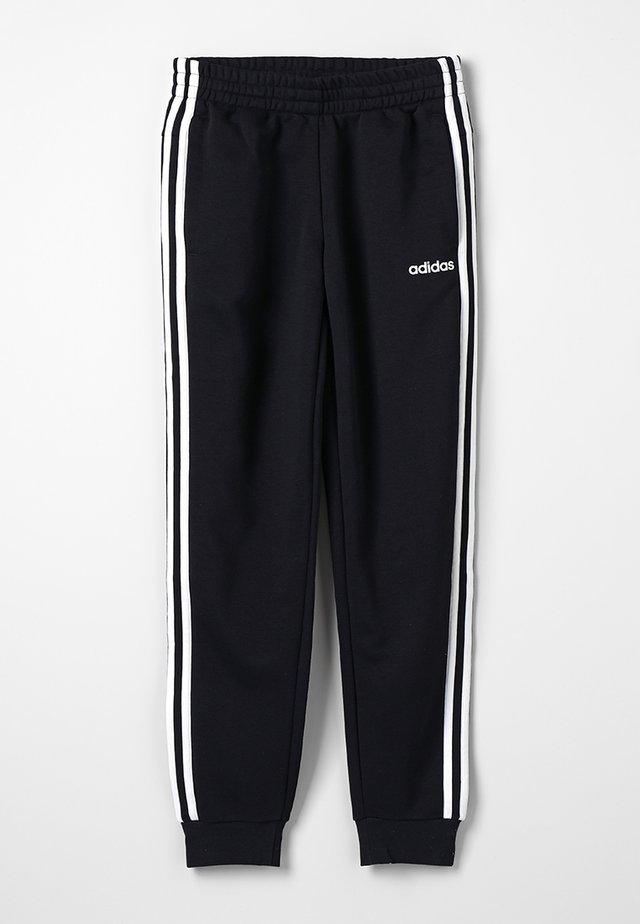 3S PANT - Verryttelyhousut - black/white