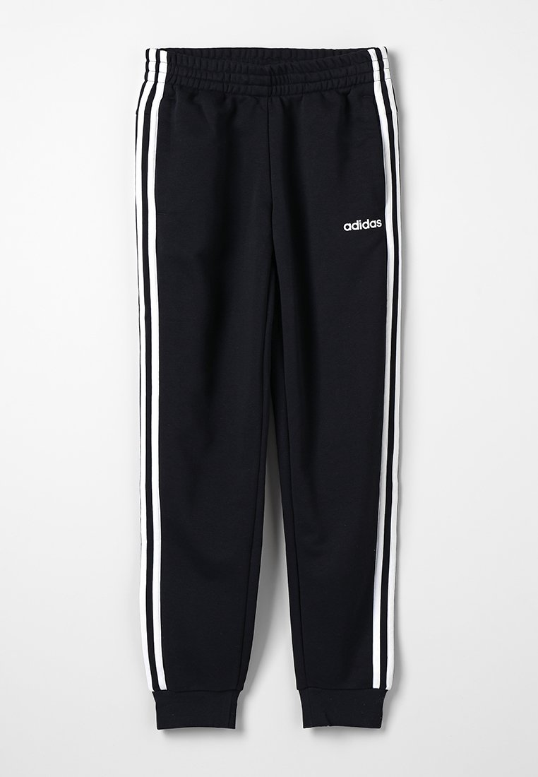 adidas Performance - 3S PANT - Tracksuit bottoms - black/white