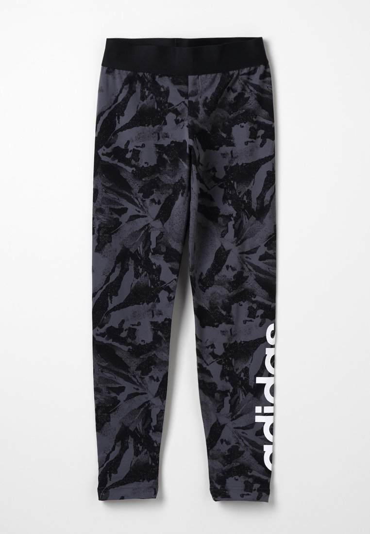 adidas Performance - Legging - grefiv/black/white