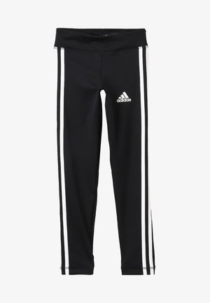 TRAINING EQUIPMENT 3 STREIFEN - Legging - black/white