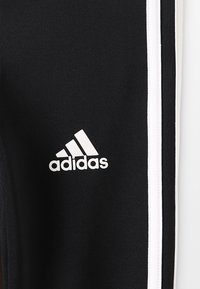 adidas Performance - TRAINING EQUIPMENT 3 STREIFEN - Tights - black/white - 4