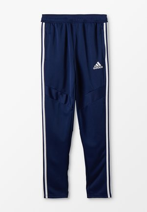 TIRO19 - Tracksuit bottoms - dark blue/white