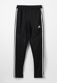 adidas Performance - TIRO AEROREADY CLIMACOOL FOOTBALL PANTS - Træningsbukser - black/white - 0