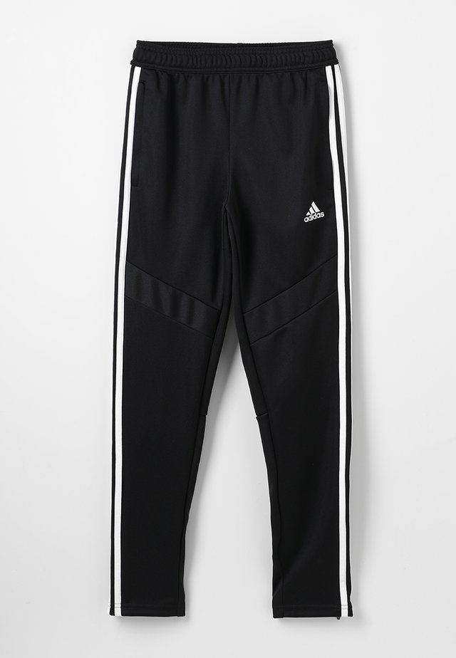 TIRO AEROREADY CLIMACOOL FOOTBALL PANTS - Tracksuit bottoms - black/white