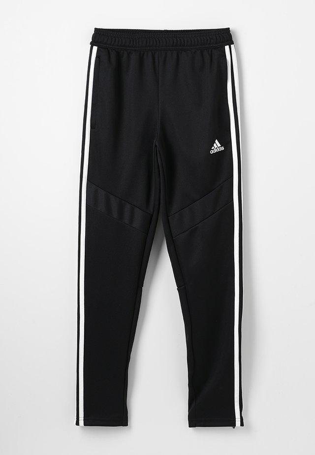 TIRO AEROREADY CLIMACOOL FOOTBALL PANTS - Pantalones deportivos - black/white