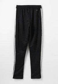 adidas Performance - TIRO AEROREADY CLIMACOOL FOOTBALL PANTS - Træningsbukser - black/white - 1