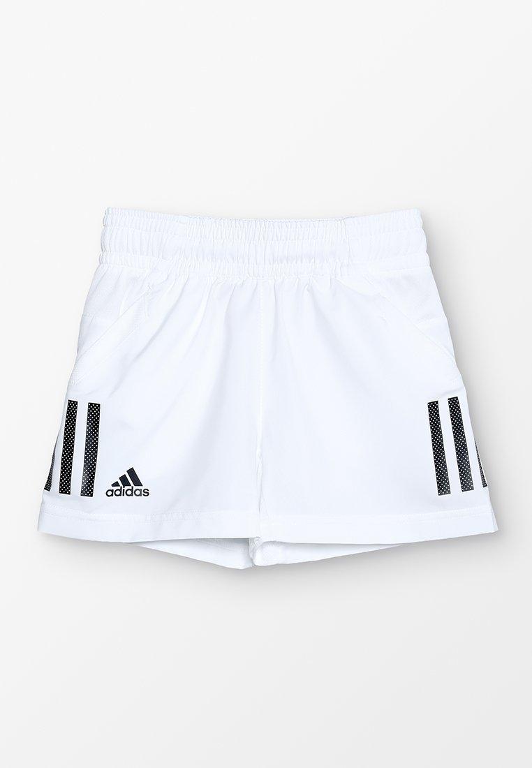 adidas Performance - CLUB SHORT - Korte broeken - white/black