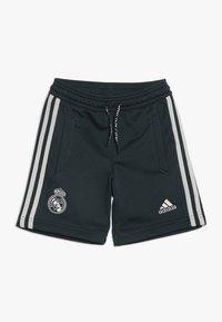 adidas Performance - REAL MADRID - Pantalón corto de deporte - teconi/grey two - 0