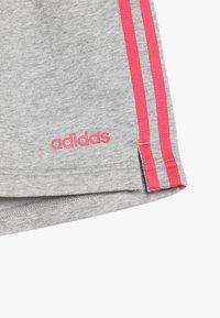 adidas Performance - SHORT - Sports shorts - medium grey heather/real pink - 4