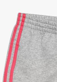 adidas Performance - SHORT - Sports shorts - medium grey heather/real pink - 2