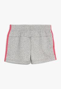 adidas Performance - SHORT - Sports shorts - medium grey heather/real pink - 1