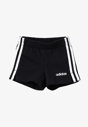 GIRLS ESSENTIALS 3STRIPES SPORT 1/4 SHORTS - Krótkie spodenki sportowe - black/white