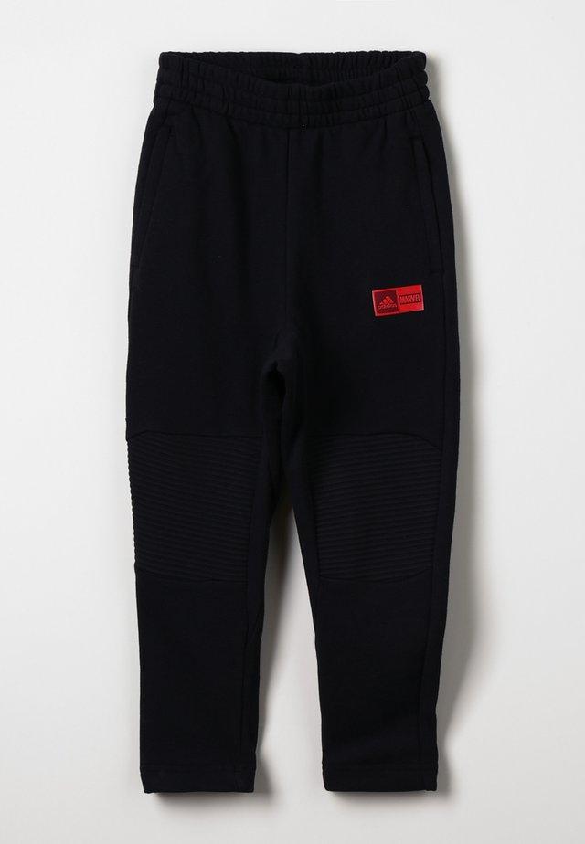 PANT - Pantalones deportivos - black/action red