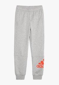 adidas Performance - Pantalon de survêtement - medium grey heather/active orange - 0