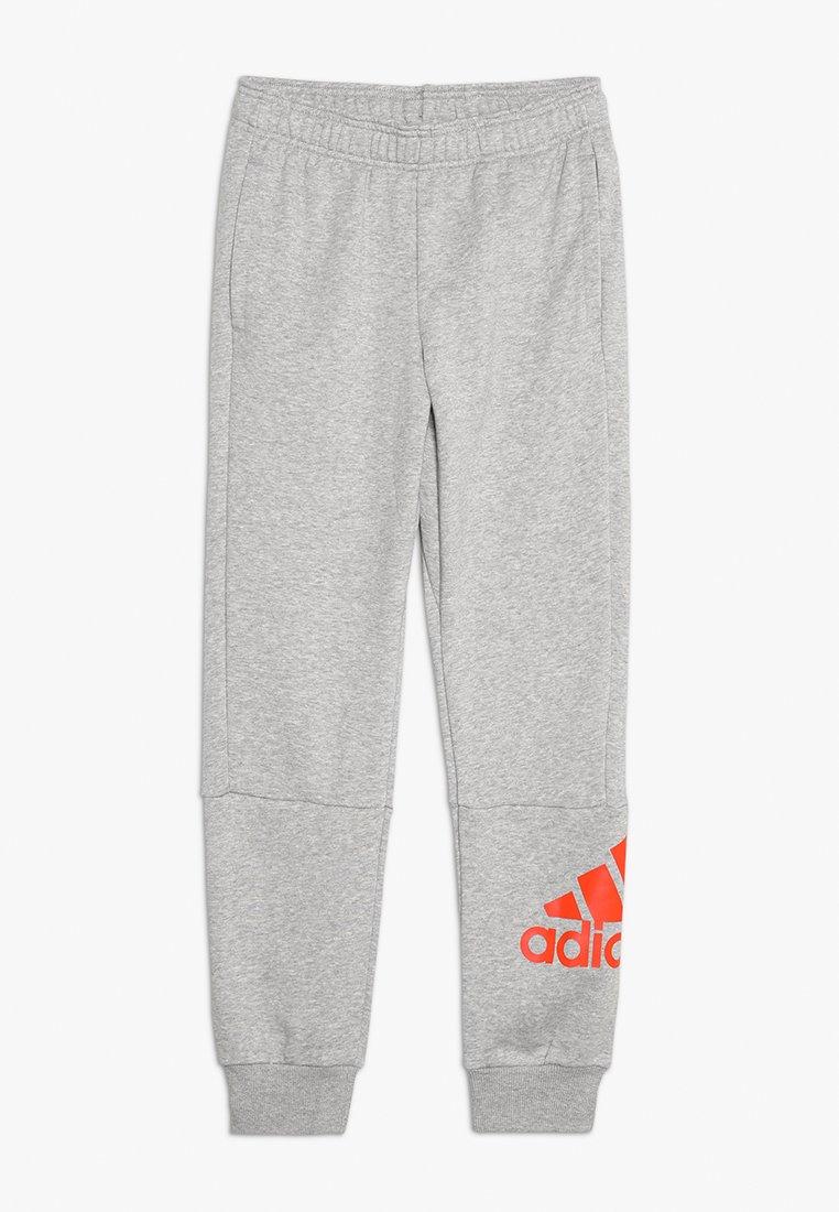 adidas Performance - Pantalon de survêtement - medium grey heather/active orange