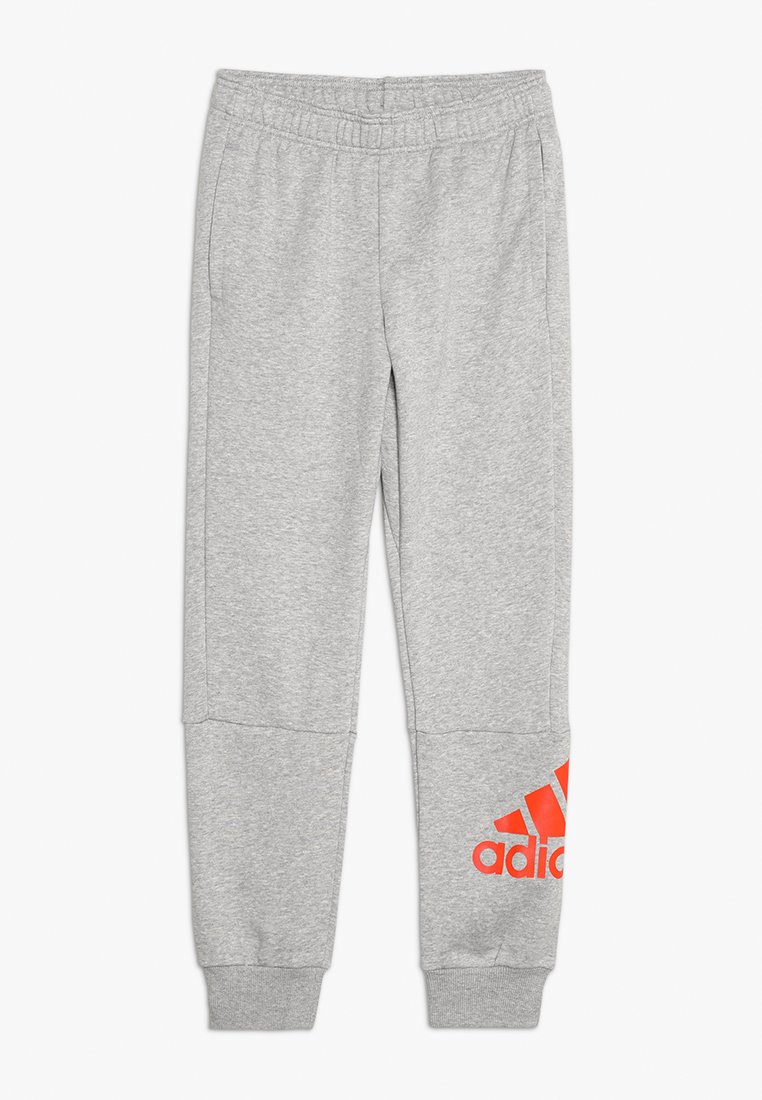 adidas Performance - Jogginghose - medium grey heather/active orange