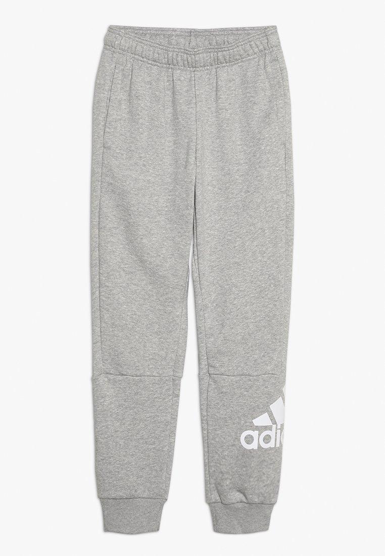 adidas Performance - Teplákové kalhoty - medium grey heather/white