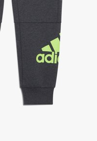 adidas Performance - Tracksuit bottoms - mottled dark grey - 3