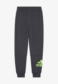 adidas Performance - Tracksuit bottoms - mottled dark grey - 2
