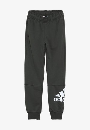 Pantaloni sportivi - dark green/white