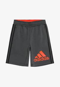 adidas Performance - Sports shorts - grey six/active orange - 3