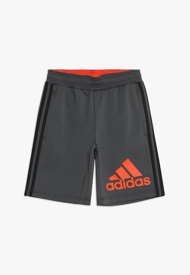 adidas Performance - Sports shorts - grey six/active orange